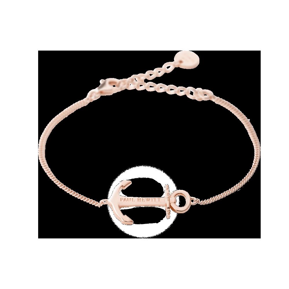 Anchor Spirit Bracelet  925 Sterling Silver / Rose